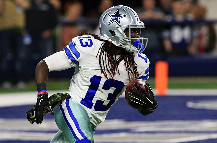 Watch Cowboys Lucky Whitehead Backflip One Handed Catch