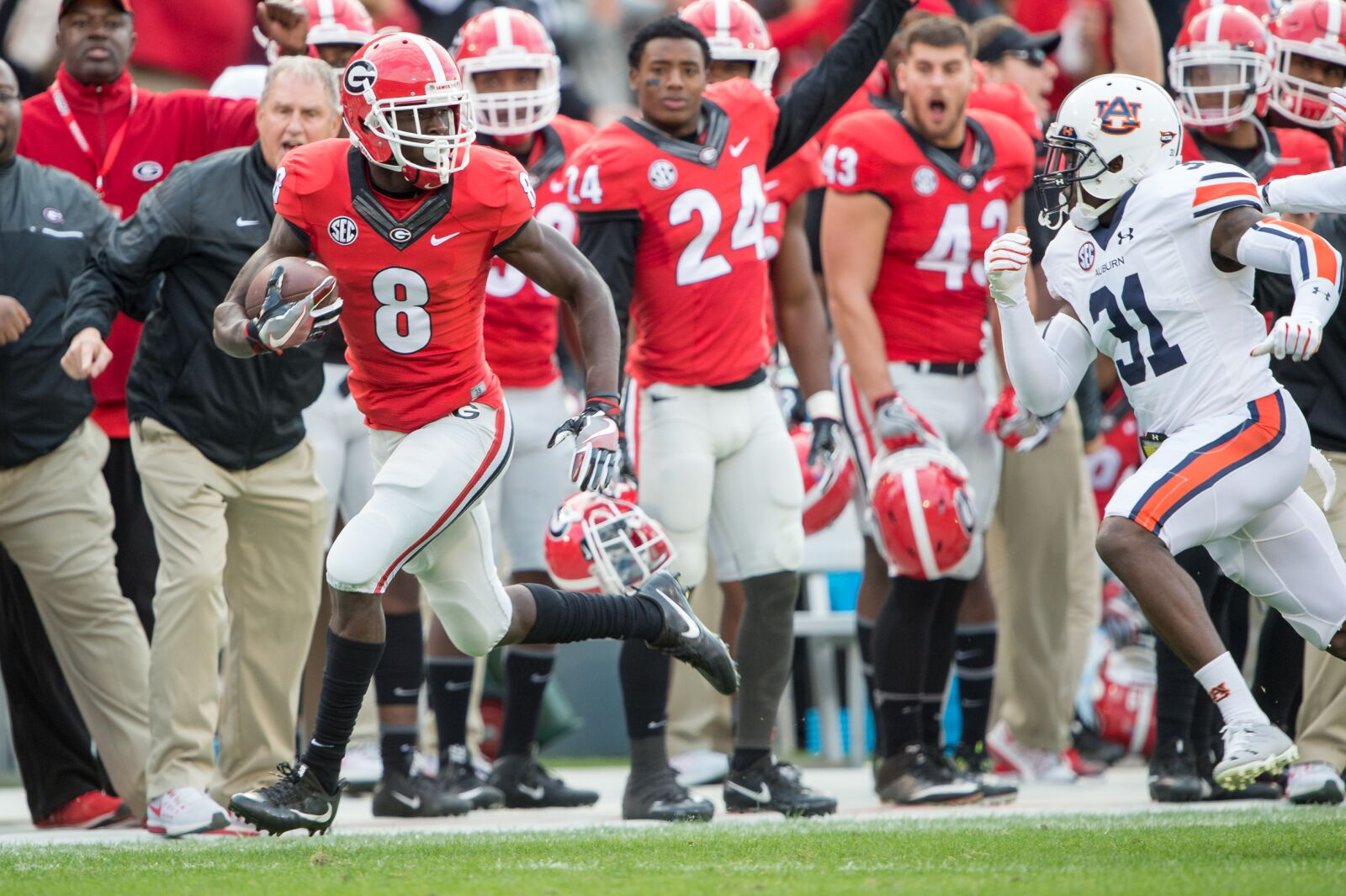 Dallas Cowboys: Could Riley Ridley be a second round target?