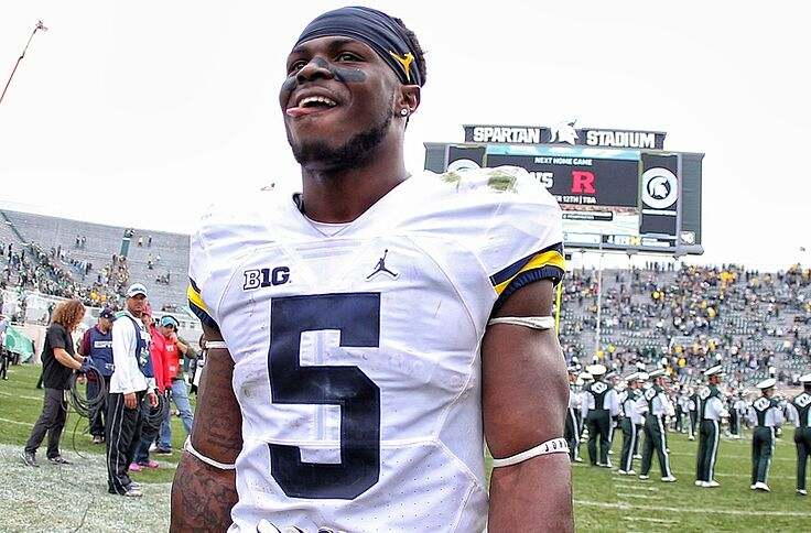 sale retailer e411b 88c18 Buccaneers' 2017 NFL Draft Profile: Safety Jabrill Peppers