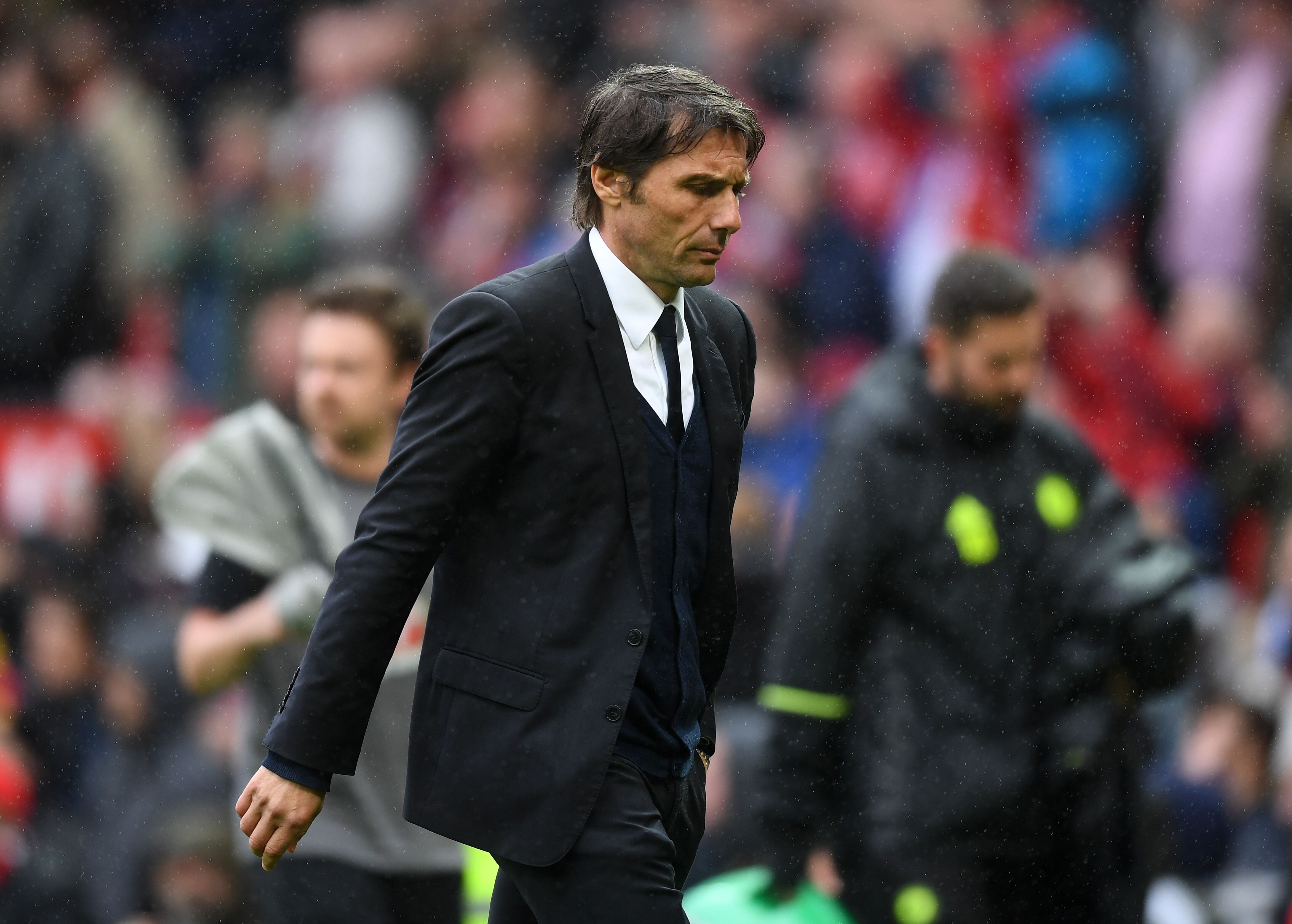Image result for pic of antonio conte waiving