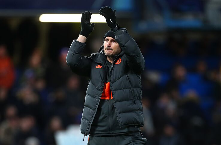 Frank Lampard's Chelsea advancing to the round of 16 is an