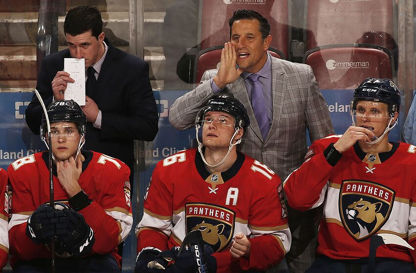 Florida Panthers  Bob Boughner Excited for the New Season 0bd27c0a8