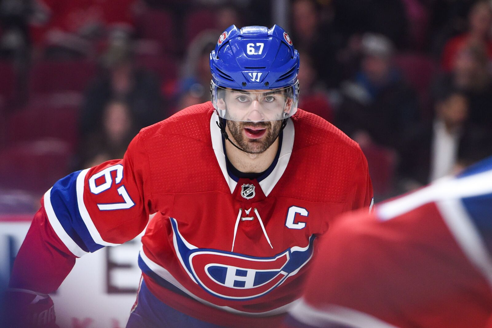Montreal Qc February  Look On Montreal Cana Ns Left Wing Max Pacioretty