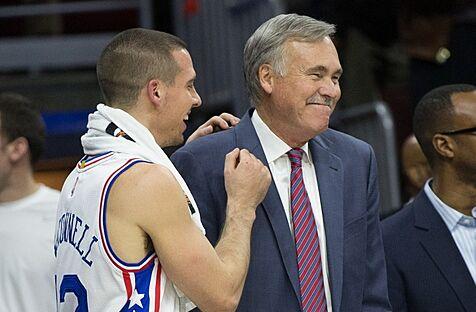Mike D'Antoni Is Already On Display In Philadelphia 76ers