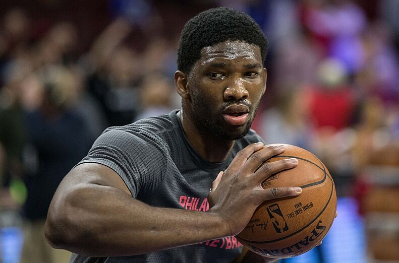 68f9f974b2b0 Philadelphia 76ers Await Game Changer Joel Embiid