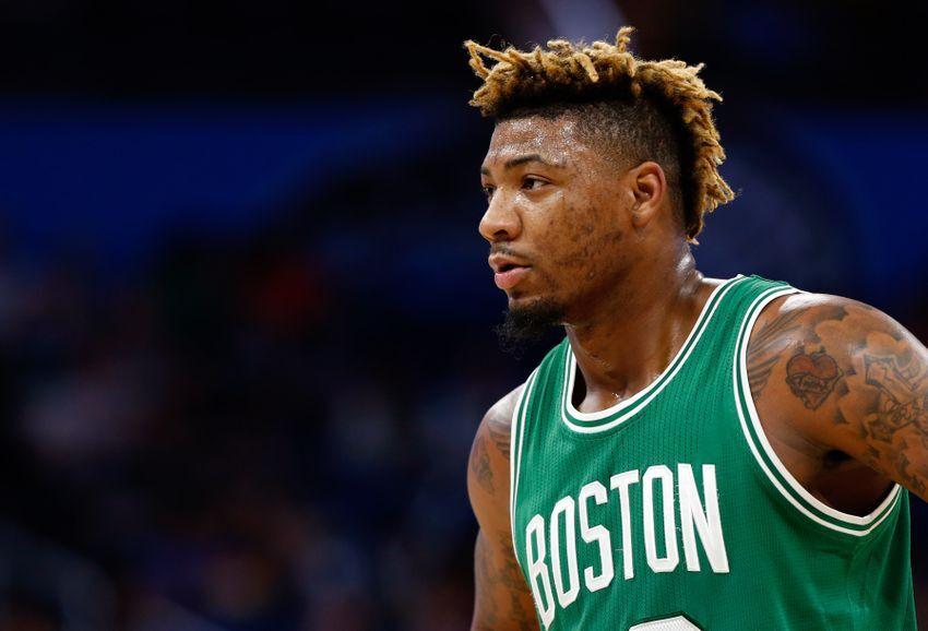 Dec 7 2016 Orlando Fl Usa Boston Celtics Guard Marcus Smart