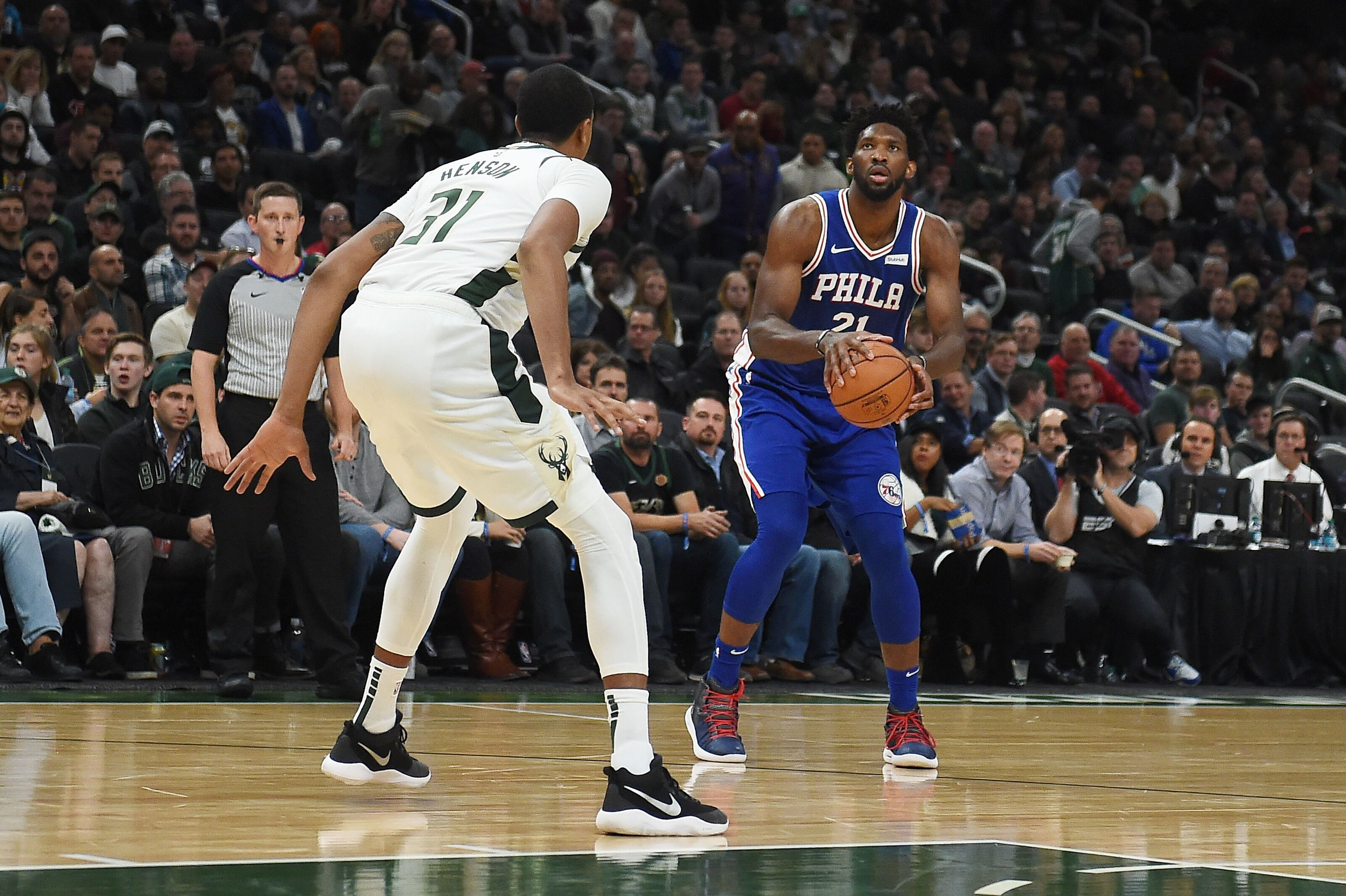 Joel Embiid   Philadelphia 76ers (Photo by Stacy Revere/Getty Images)
