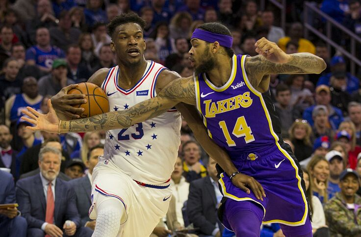 official photos fa497 55be7 Philadelphia 76ers rumors: Jimmy Butler to L.A. Lakers is a ...