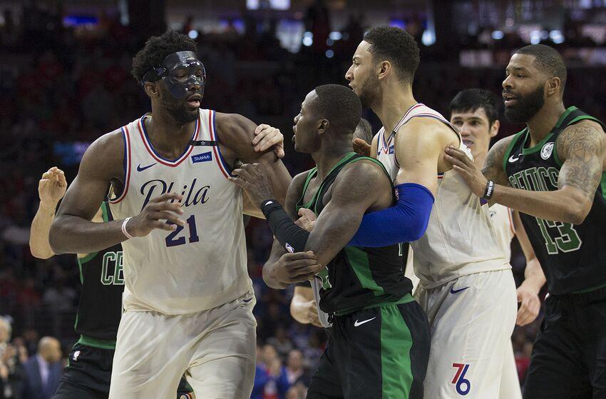 04b0379b8 Philadelphia 76ers   Boston Celtics  rebuilds were different