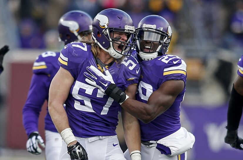 Minnesota Vikings Audie Cole Out For Season - Audie cole