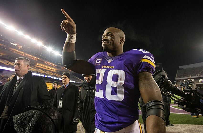 Adrian Peterson Is Reason Kirby Wilson Cant Go To Cleveland