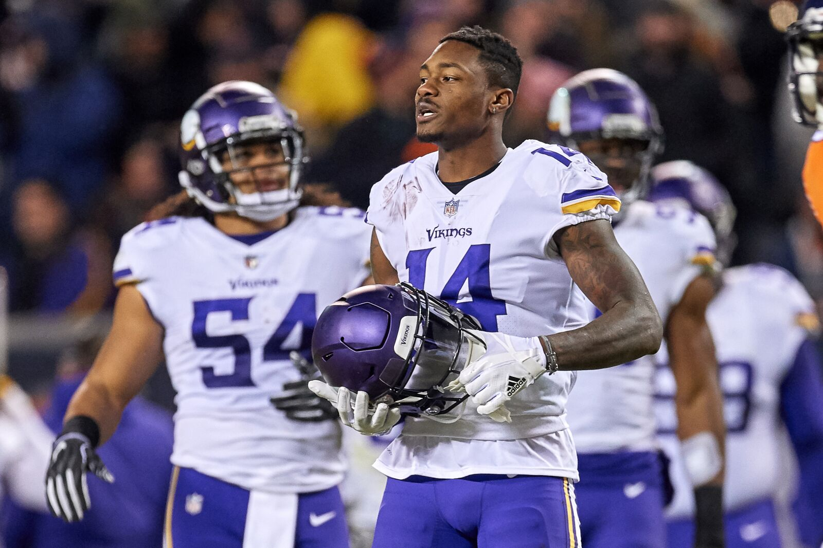 Who is the highest rated Vikings player in Madden NFL 20?