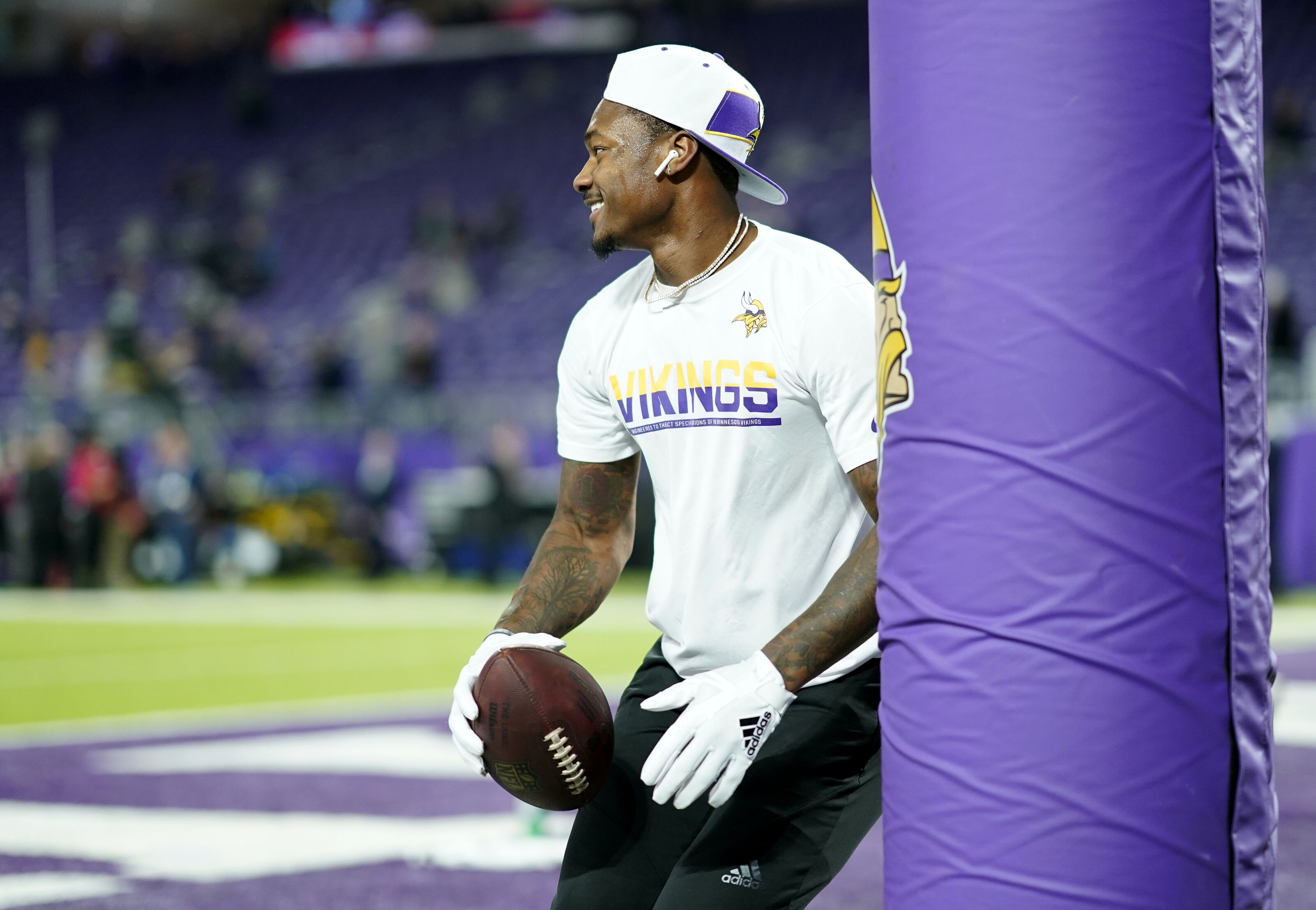 Stefon Diggs' absence at OTAs not a concern for Vikings