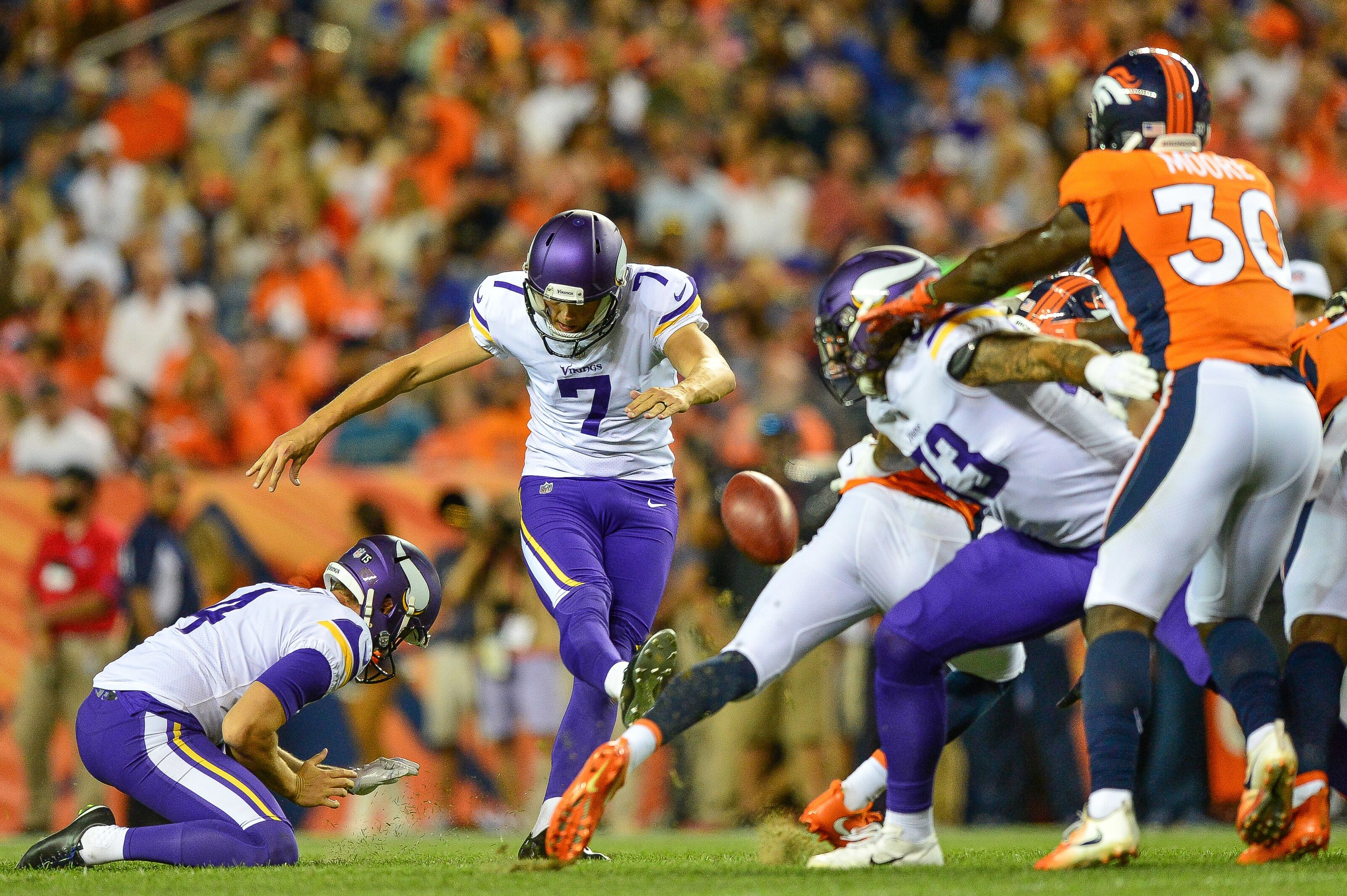 Minnesota Vikings kicker Daniel Carlson still in awe over being in the NFL