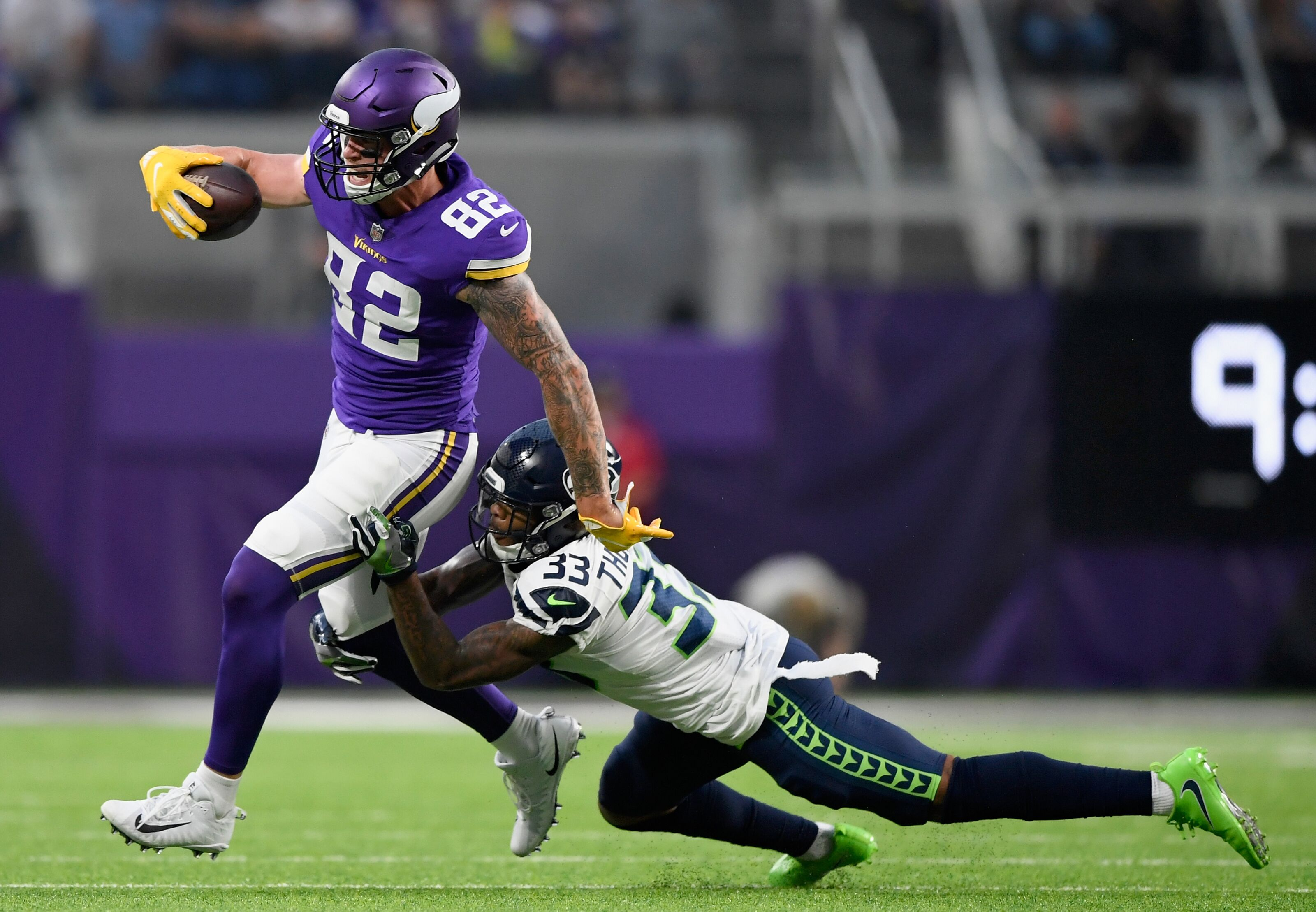 Experts think the Seahawks will beat the Minnesota Vikings in Week 14