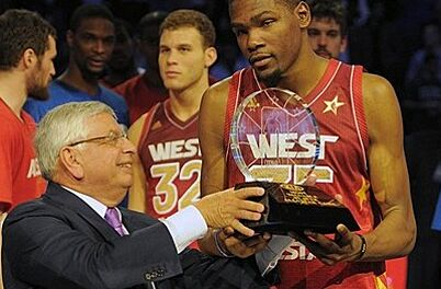 d4e93d63b Kevin Durant wins All-Star Game MVP  West tops East 152-149 ...