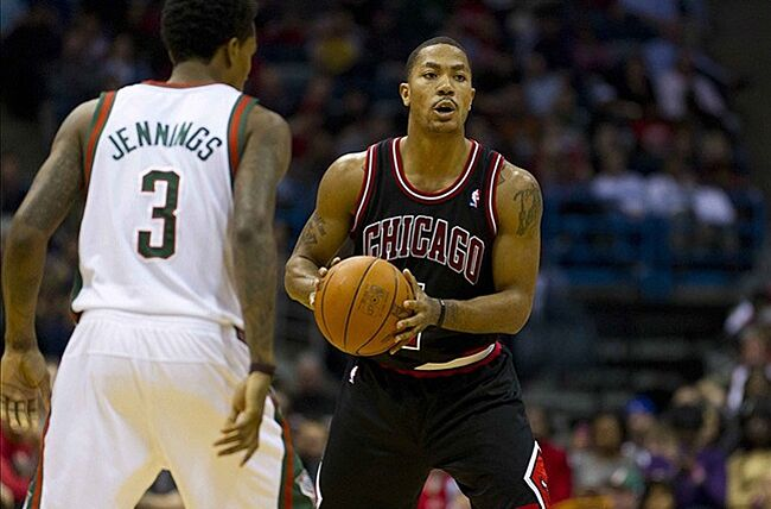 c8cac1780e5 Derrick Rose picks Kevin Durant as MVP right now - Thunderous ...