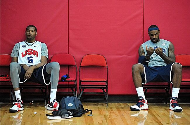 Kevin Durant  Seeing LeBron James with Team USA Basketball  bothers ... 0bda16c23