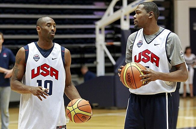 f7e372210308 Kevin Durant  Kobe Bryant predicted Lakers would get Dwight Howard ...