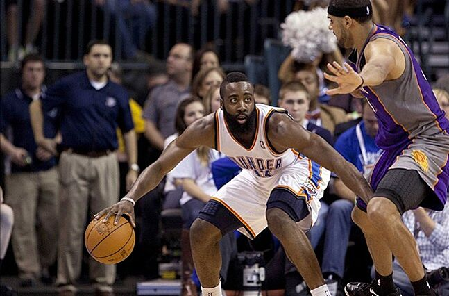 134e0c3bf7d8 OKC Thunder discussed James Harden trade with Phoenix Suns too ...