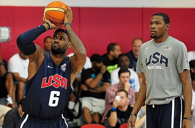 d0504c246 Kevin Durant  Workouts with LeBron James  blown out of proportion ...