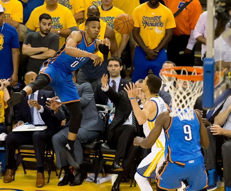 Russell Westbrook challenge with Oklahoma City Thunder
