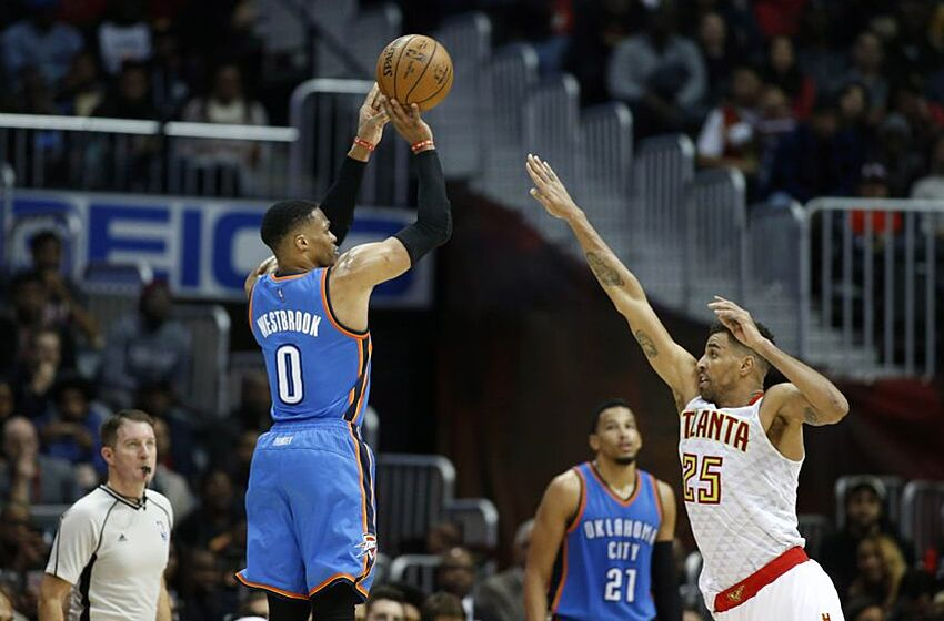 Image result for russell westbrook missed shot