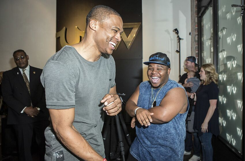 33ea379e7785 OKC Thunder star Russell Westbrook honors brother s accomplishment ...