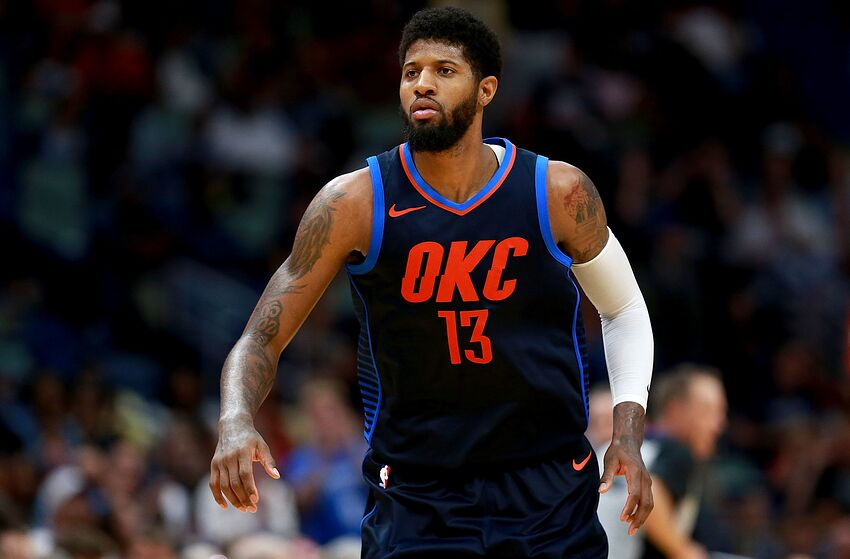 b50eec70c81e Paul George takes on fellow gamers in level-up challenge
