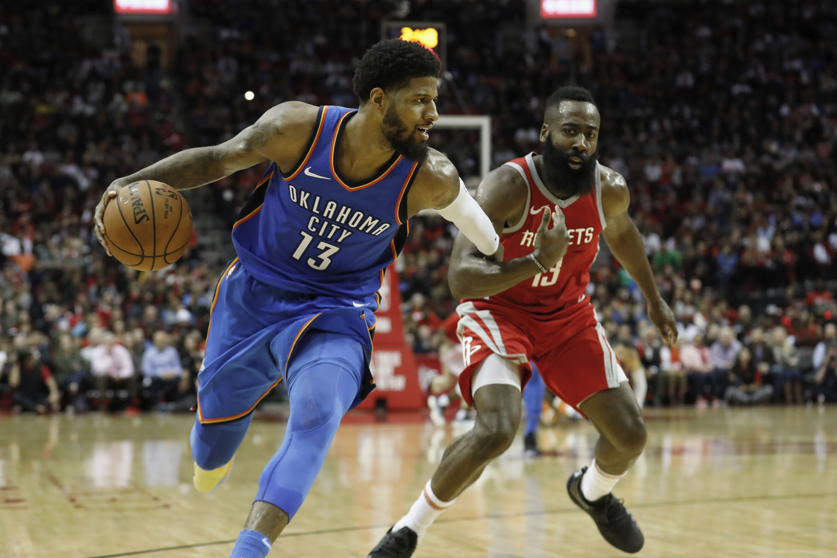 Okc Thunder Paul George Can Add Rockets To List Of