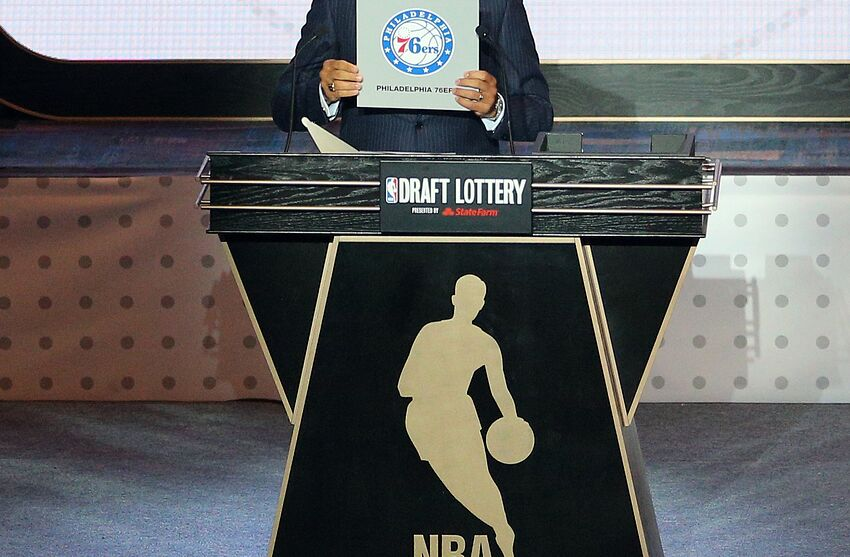 2017 nba draft lottery details and how it could affect okc thunder may 17 2016 new york ny usa nba deputy commissioner mark prinsesfo Images