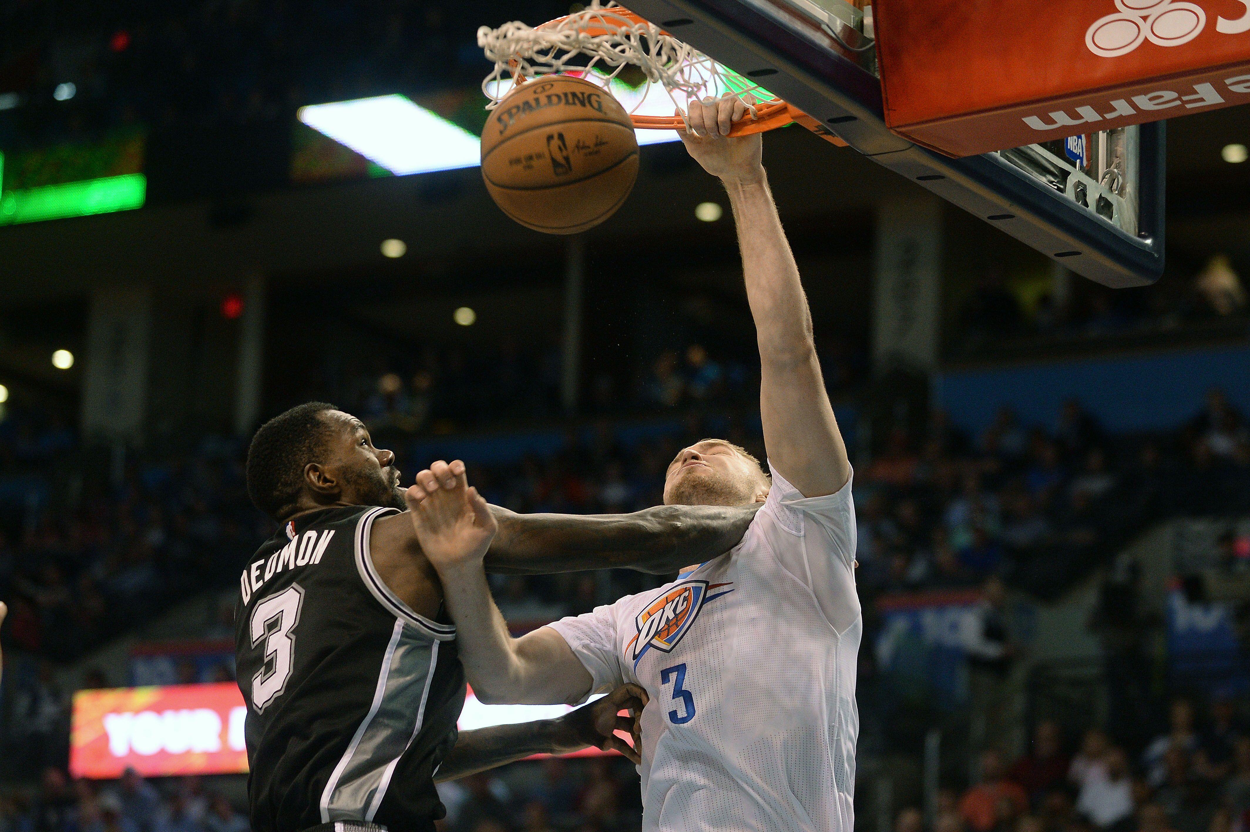 OKC Thunder Rout San Antonio Spurs Westbrook 31st Triple