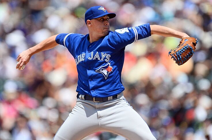 buy online 6df7a 30781 Toronto Blue Jays: Aaron Sanchez to the Pen?