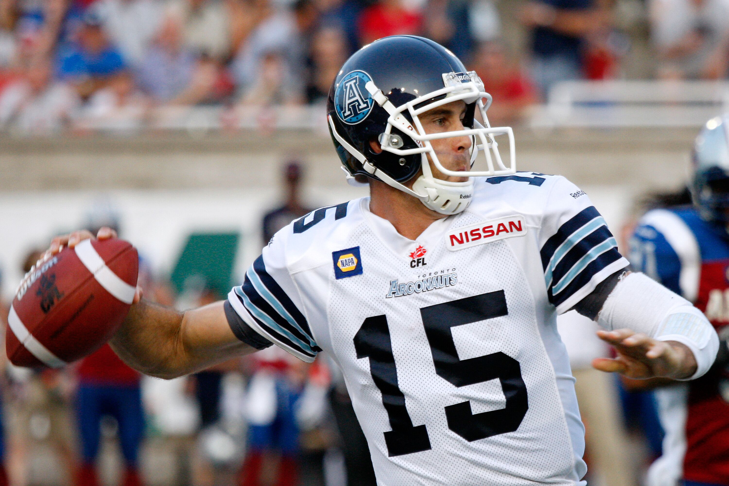 Montreal Qc August  Ricky Ray