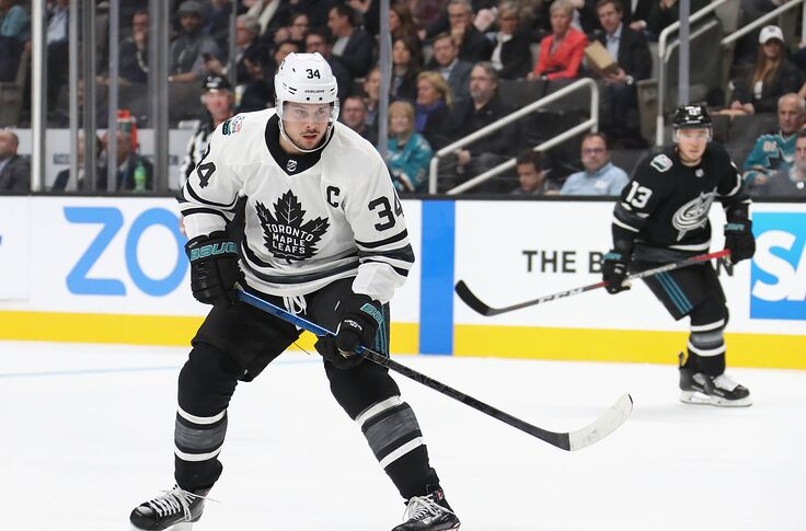 separation shoes 63965 993ce Toronto Maple Leafs: Are they leaning towards Auston ...