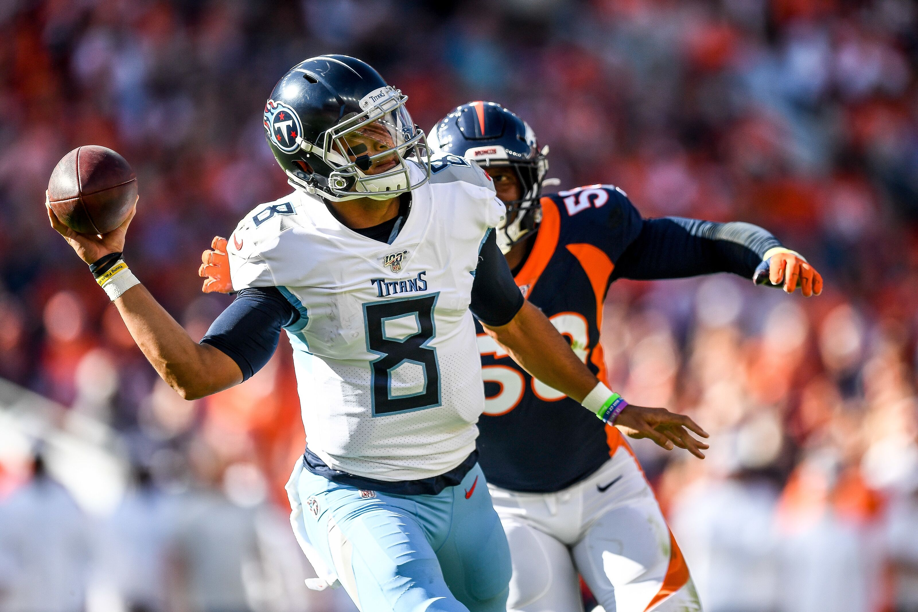 Tennessee Titans: Marcus Mariota reacts to getting benched in Week 6