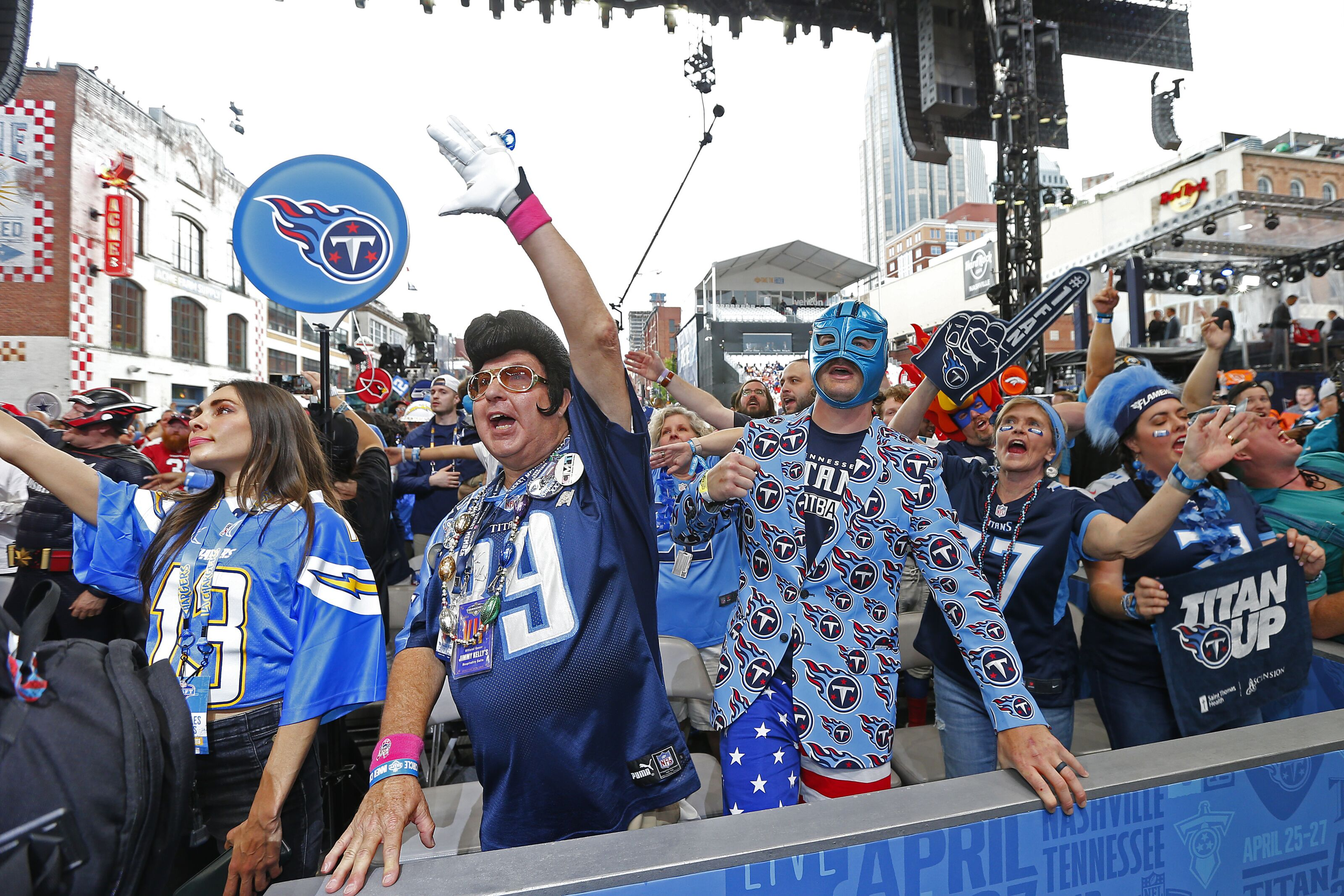 Tennessee Titans fanbase ranked as one of NFL's worst for 2019