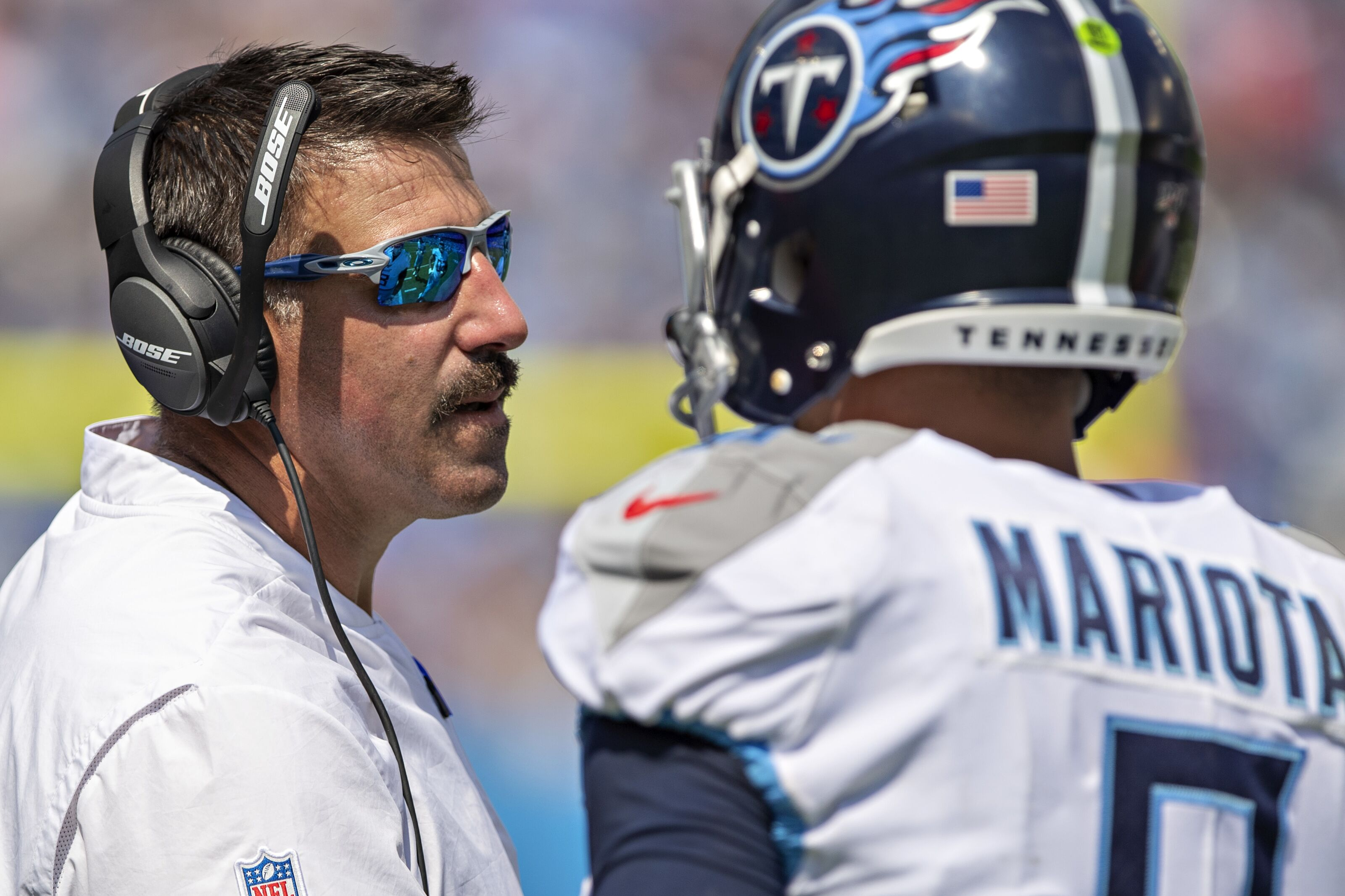 Tennessee Titans: Mike Vrabel praises Marcus Mariota for his leadership