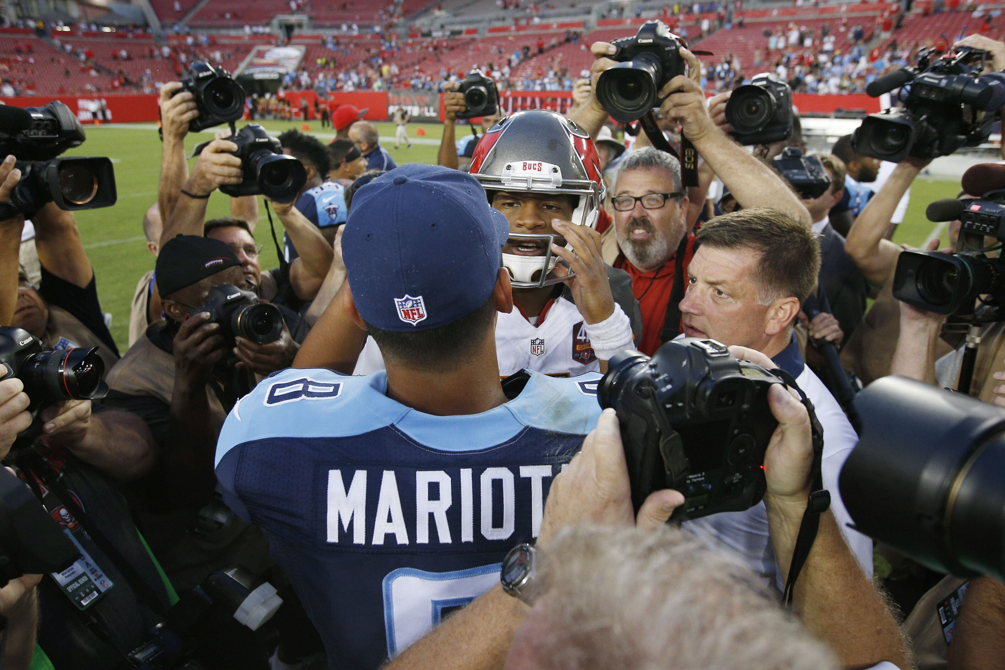 Marcus Mariota Has an Important Game Against the Bucs on Saturday