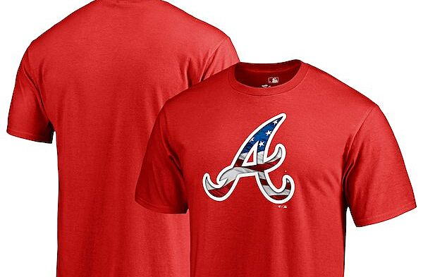 the best attitude cf5f5 dc0c1 Get ready for the Fourth of July with Atlanta Braves gear
