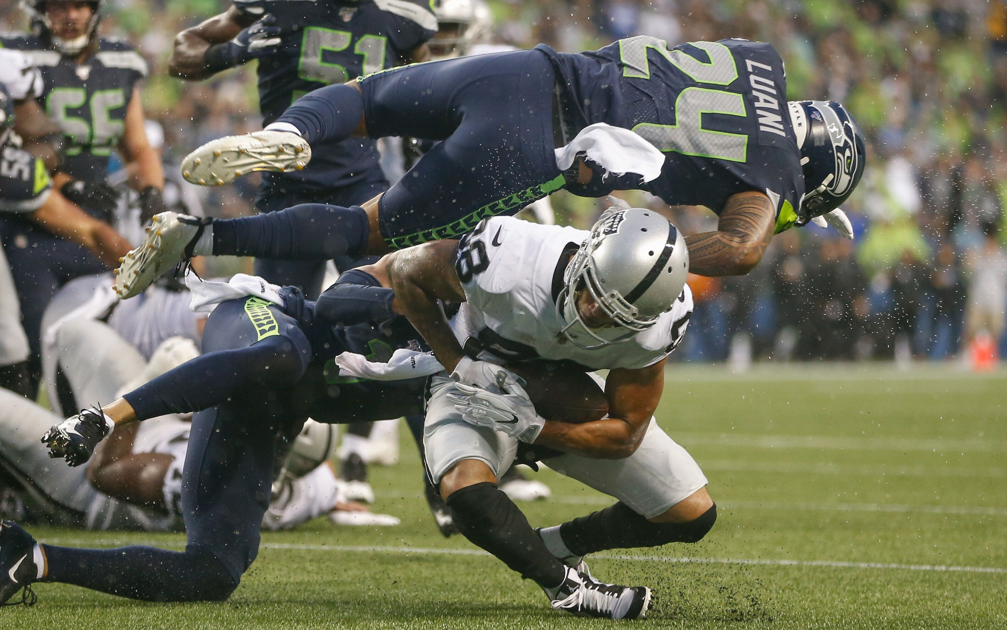 Houston Texans add Shalom Luani to bolster their practice squad