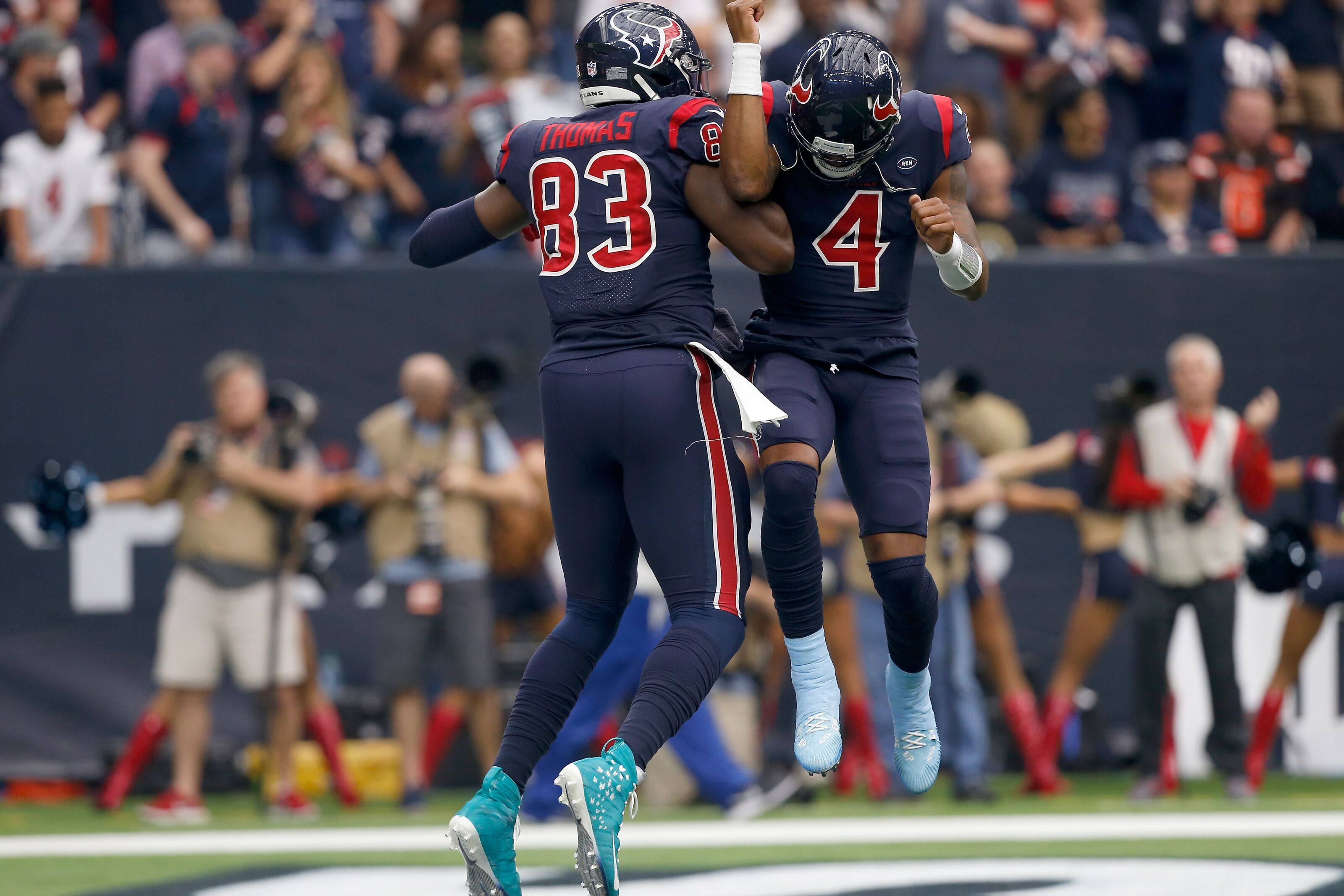 The Houston Texans Have Rebuilt the Tight End Position