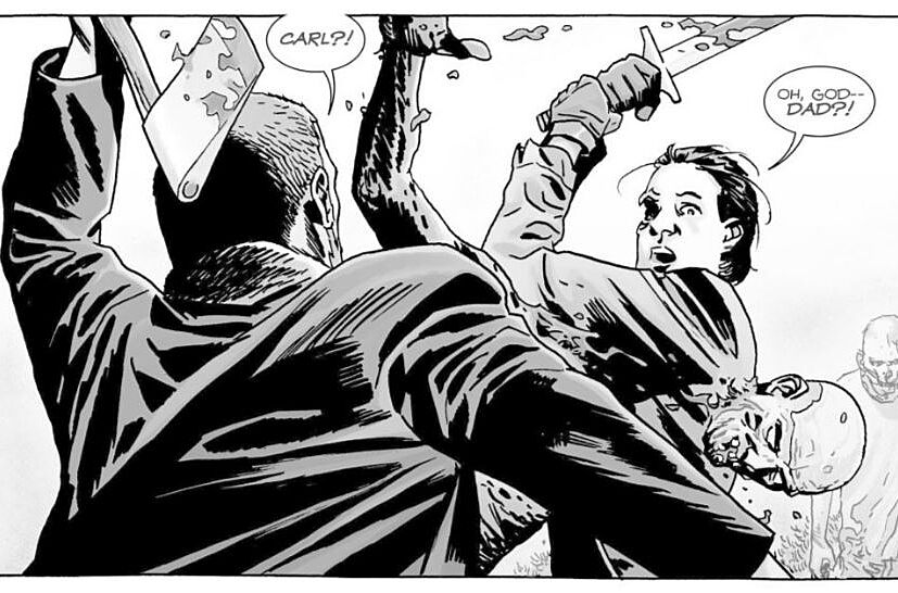 The Walking Dead issue 166 comic book recap: 'No Surrender'