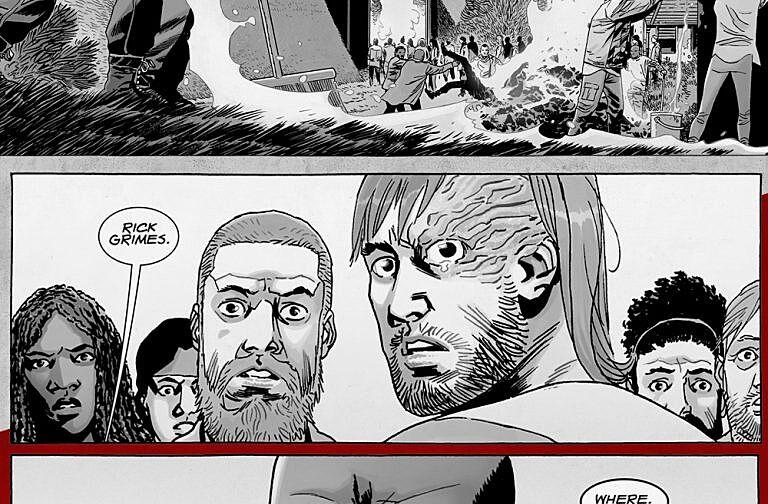 how did walking dead comics end
