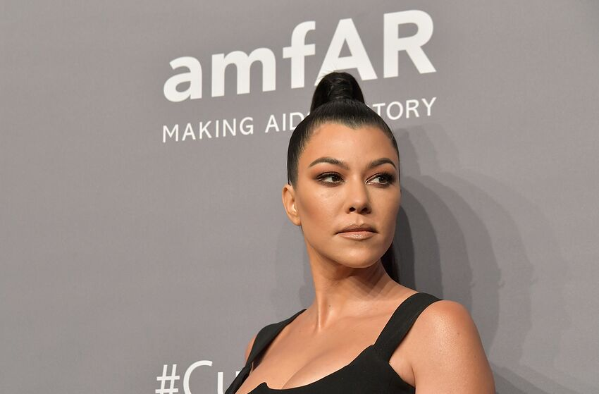 NEW YORK, NY - FEBRUARY 06: Kourtney Kardashian attends the amfAR New York Gala 2019 at Cipriani Wall Street on February 6, 2019 in New York City. (Photo by Michael Loccisano/Wire Image)