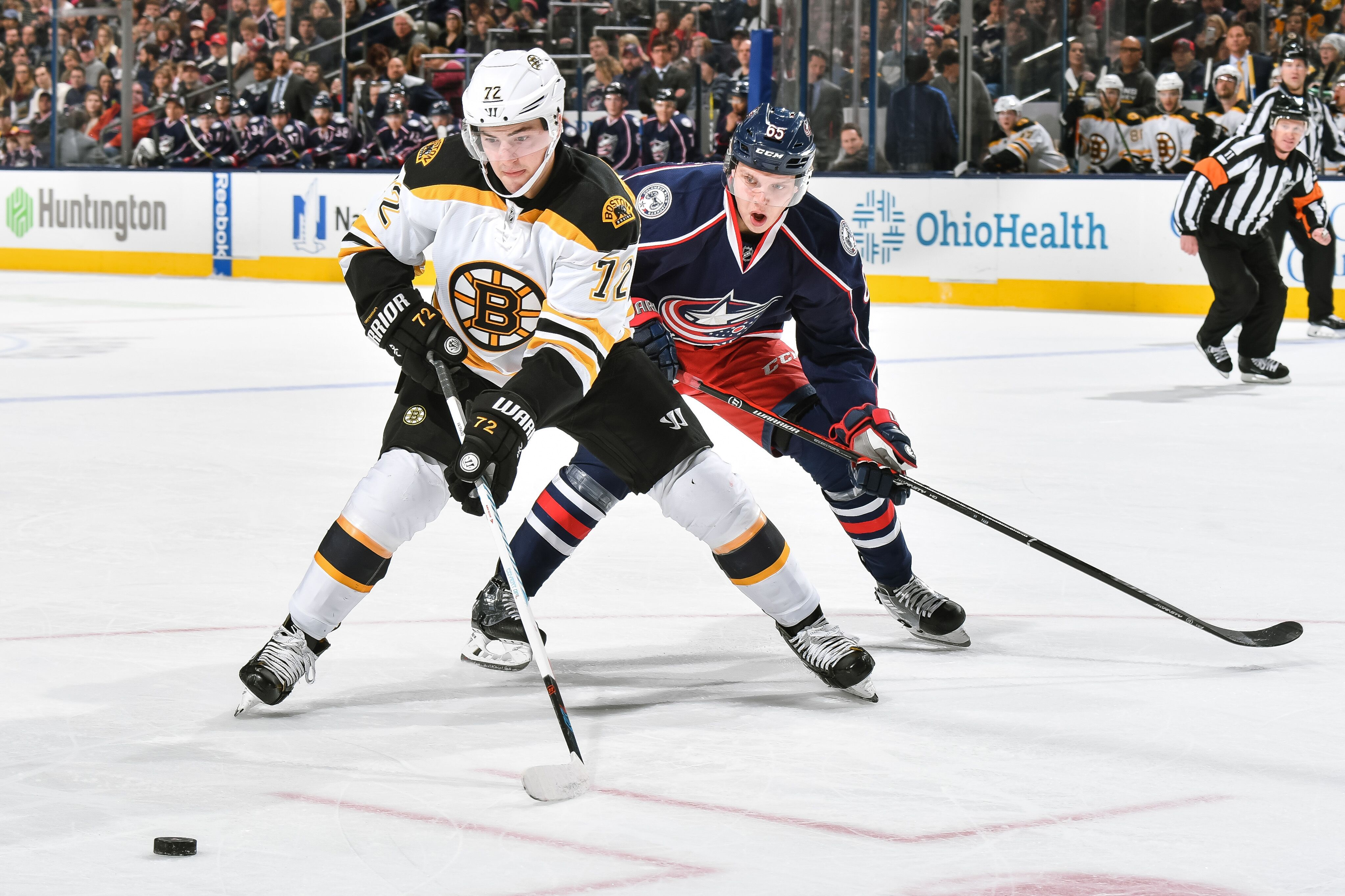 Image result for boston bruins vs columbus