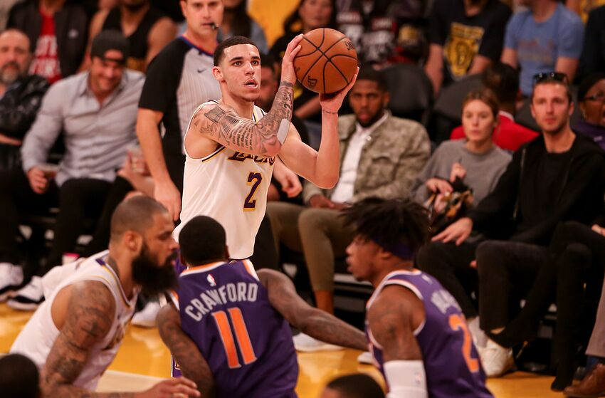 4eb0220863fe Lonzo Ball is the trade the Phoenix Suns should make - but wont