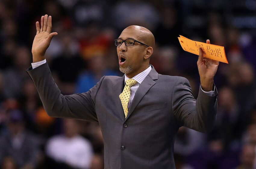 Monty Williams Phoenix Suns (Photo by Christian Petersen/Getty Images)