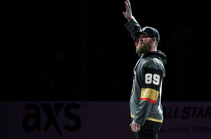 new arrivals d1c78 4cd1b Vegas Golden Knights: Baseball Star Bryce Harper All-In On ...