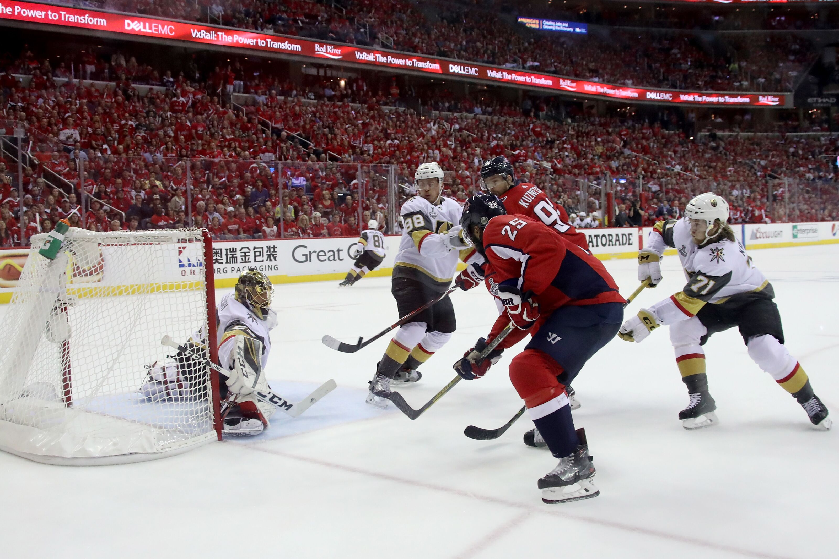 Vegas Golden Knights Lack Confidence In Game Four, Trail 3 ...